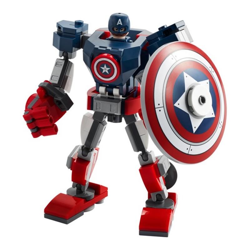 Конструктор Lego Super Heroes Капитан Америка: Робот