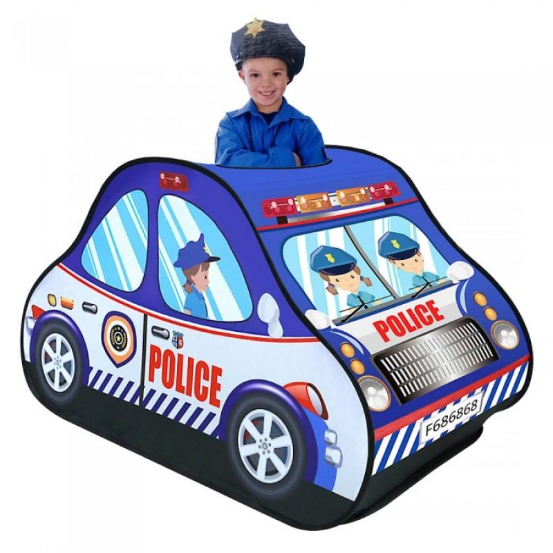 Pituso Дом Полицейская машина + 50 шаров