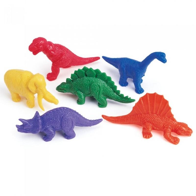 Learning Resources Игровой набор фигурок Динозавры (108 элементов)