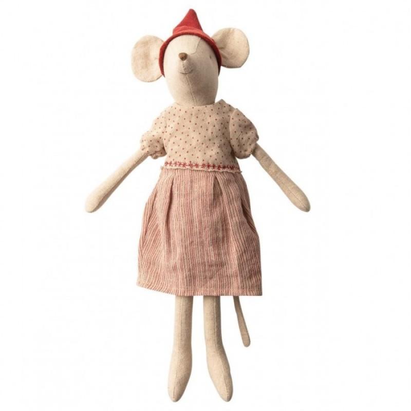 Мягкая игрушка Maileg Рождественская мышка Медиум