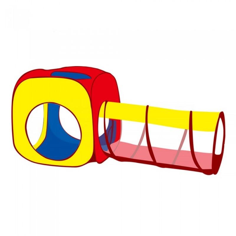 Pituso Дом Квадрат и туннель + 100 шаров 180 x 70 см