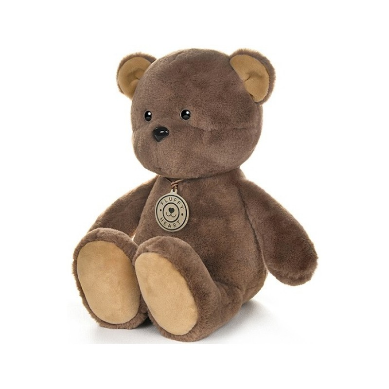 Мягкая игрушка Fluffy Heart Медвежонок 35 см