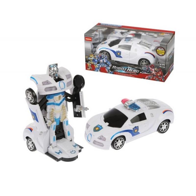 Наша Игрушка Трансформер Машина-робот AT288X