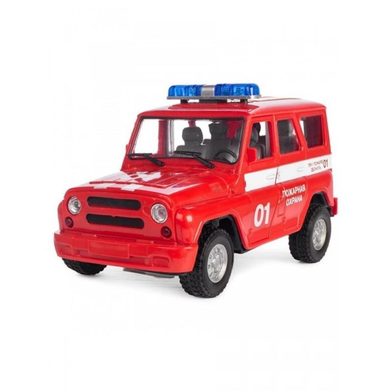 Play Smart Serinity Toys Машинка со звуком и светом Пожарная охрана