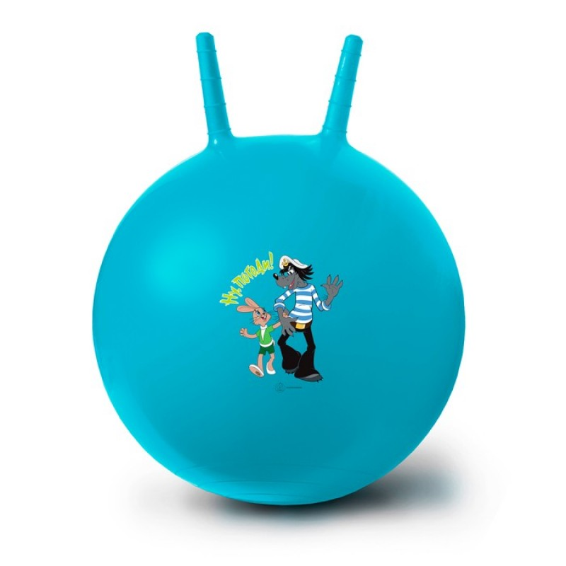 ЯиГрушка Мяч-попрыгун Ну, Погоди! 50 см