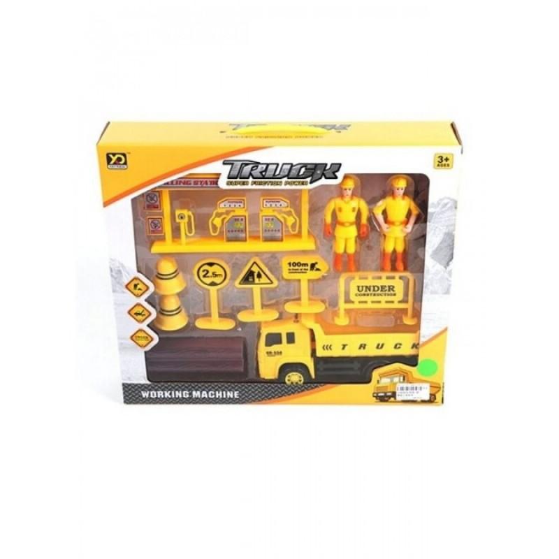Наша Игрушка Игровой набор Строители 838-4B