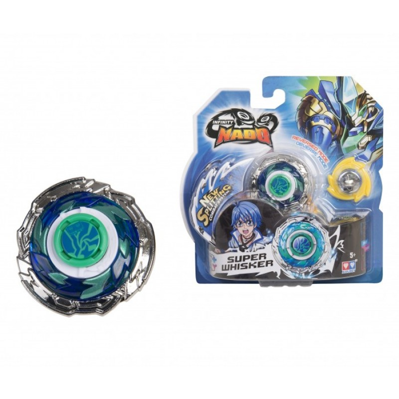 Infinity Nado Волчок Стандарт Super Whisker с пусковым устройством