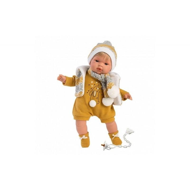 Llorens Кукла Саша 38 см со звуком L 38557
