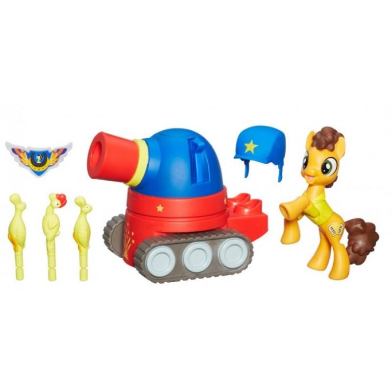 Май Литл Пони (My Little Pony) Игровой набор Хранители Гармонии Чиз сэндвич на танке