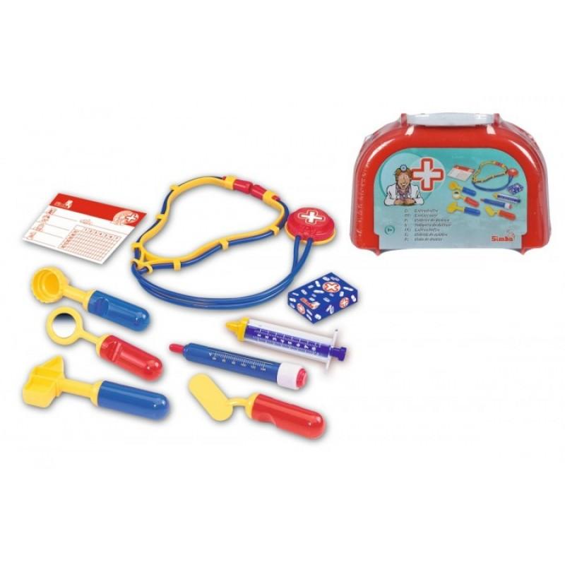 Simba Игровой набор в чемоданчике доктора 10 предметов