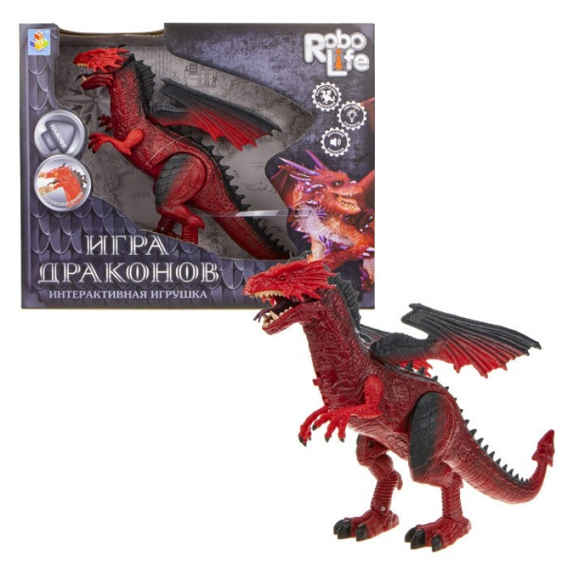 Интерактивная игрушка 1 Toy Robo Life Дракон