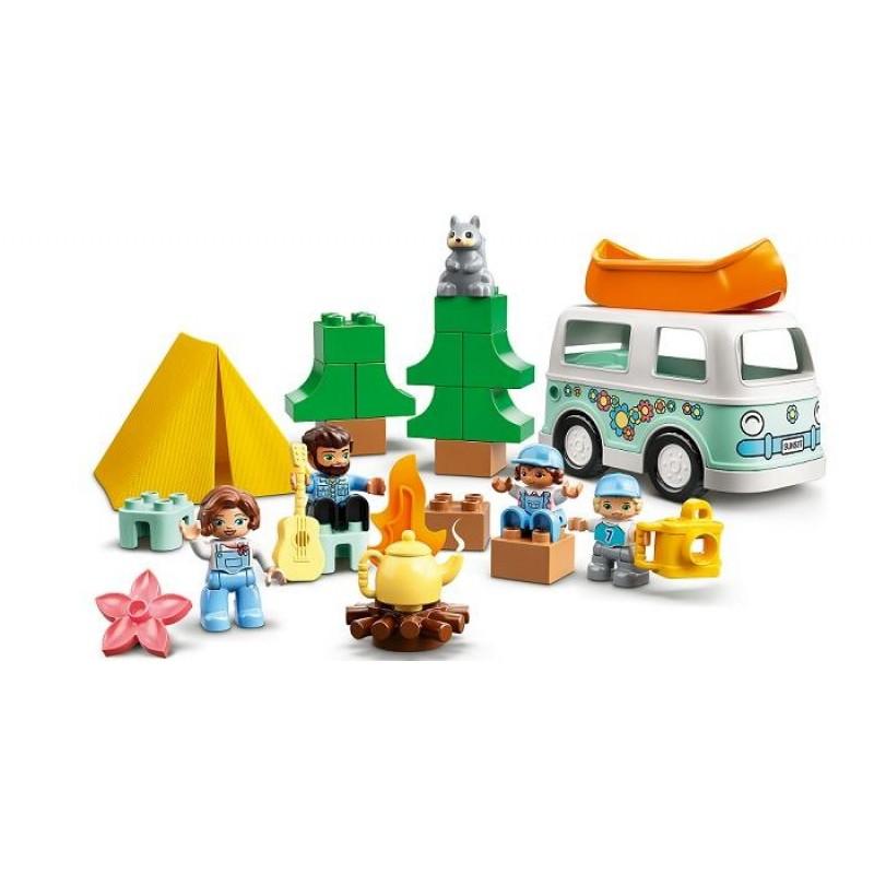 Конструктор Lego Duplo Семейное приключение на микроавтобусе