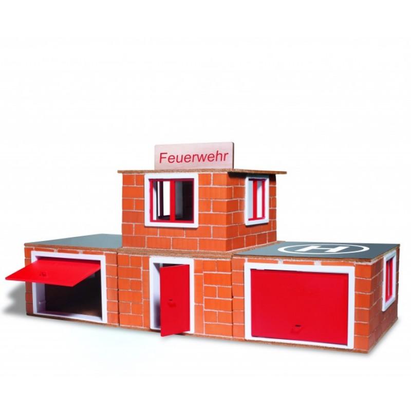 Teifoc Строительный набор Пожарное депо 220 деталей