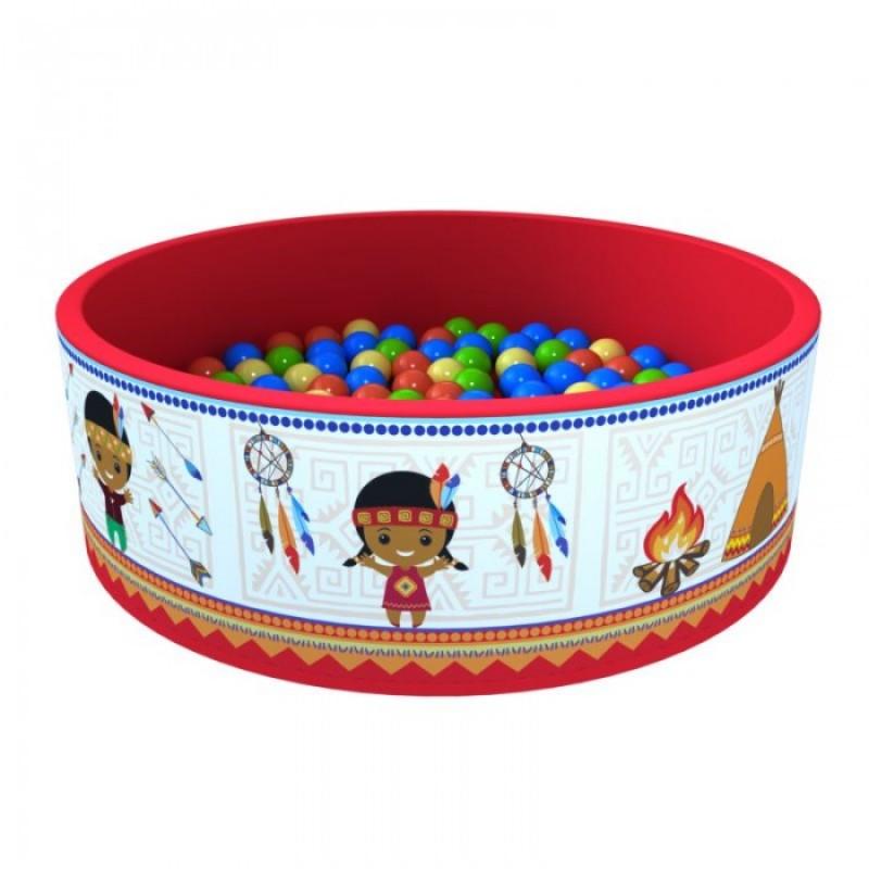 Romana Сухой бассейн Индейцы + 100 шариков