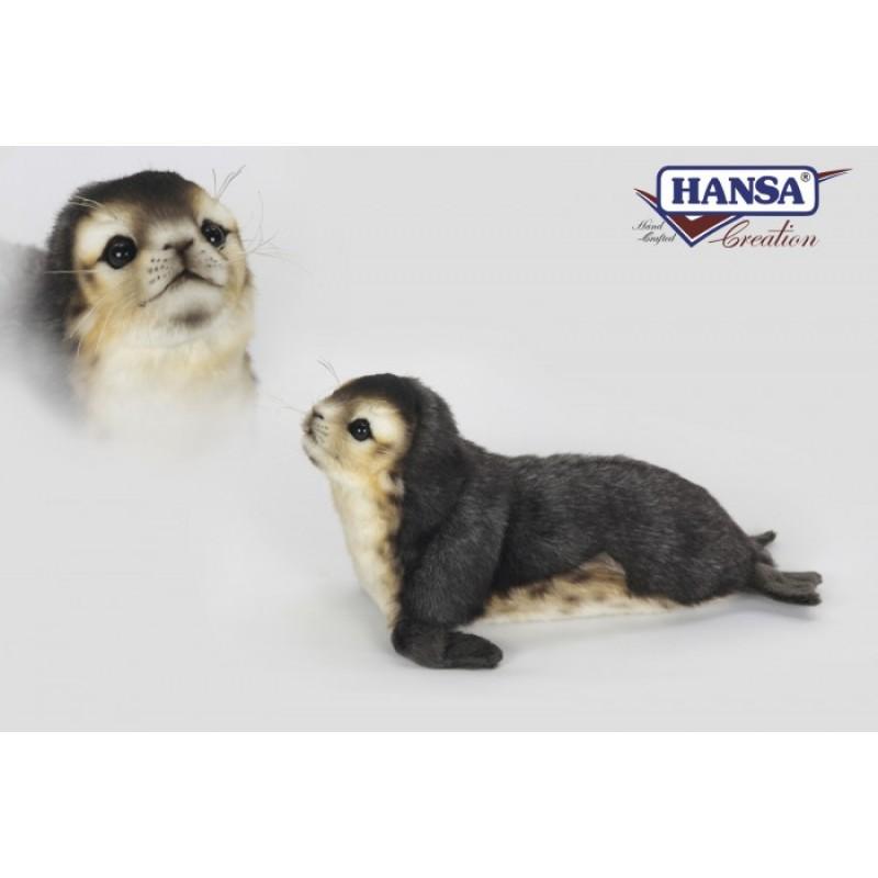 Мягкая игрушка Hansa Детеныш тюленя-монаха 30 см