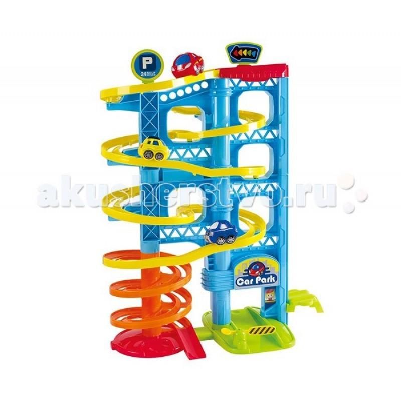 Playgo Игровая парковка 3 уровня