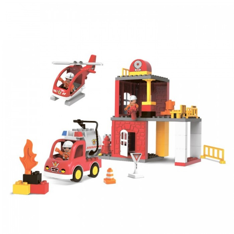 Bondibon Пожарная станция 60 деталей