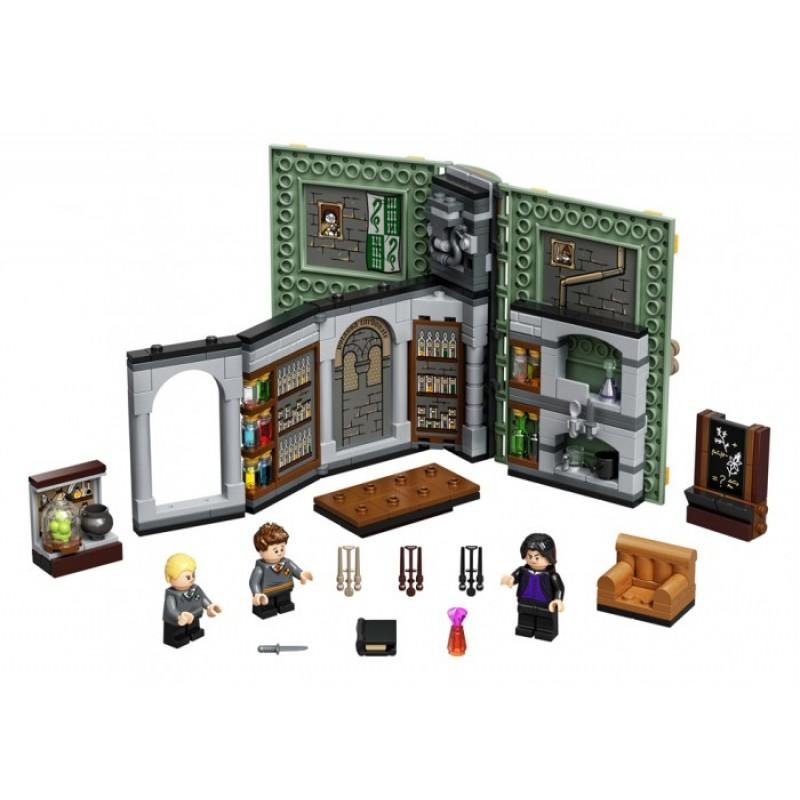Конструктор Lego Harry Potter Учёба в Хогвартсе: Урок зельеварения
