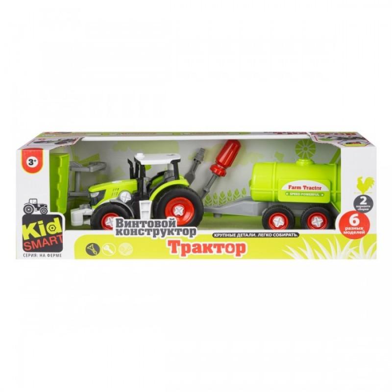 Ningbo Union Vision Набор для сборки Трактора с цистерной