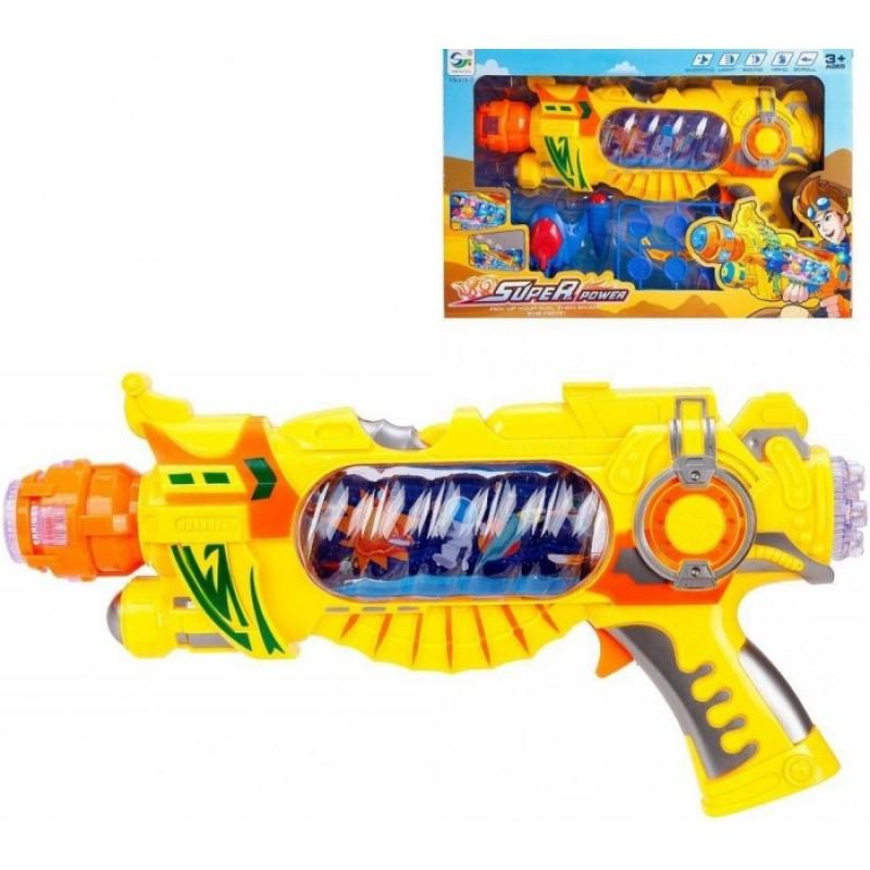 Наша Игрушка Бластер электрифицированный AK618-2