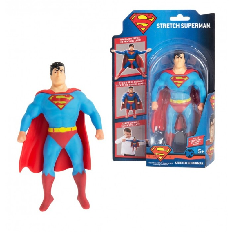 Стретч Тянущаяся фигурка Мини-Супермен
