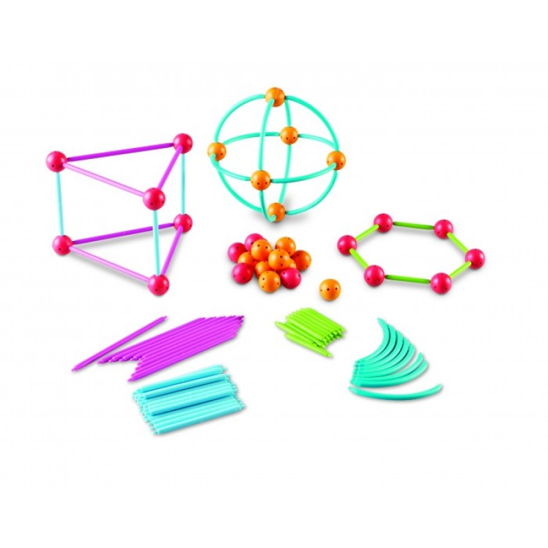 Конструктор Learning Resources Погружение в геометрию (170 элементов)