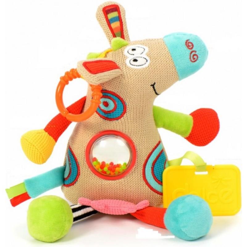 Развивающая игрушка Dolce Теленок 95309