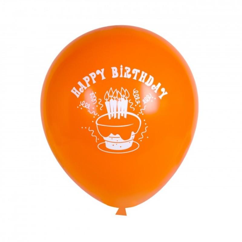 Детский дворик Воздушные шарики С Днем Рождения! 100 шт.