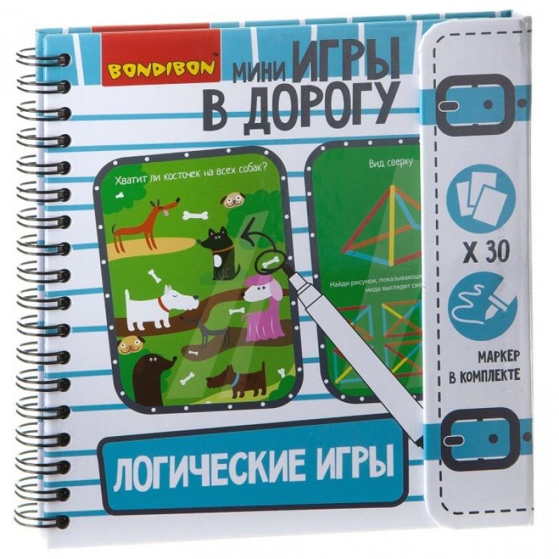 Bondibon Компактная игра в дорогу Логические игры