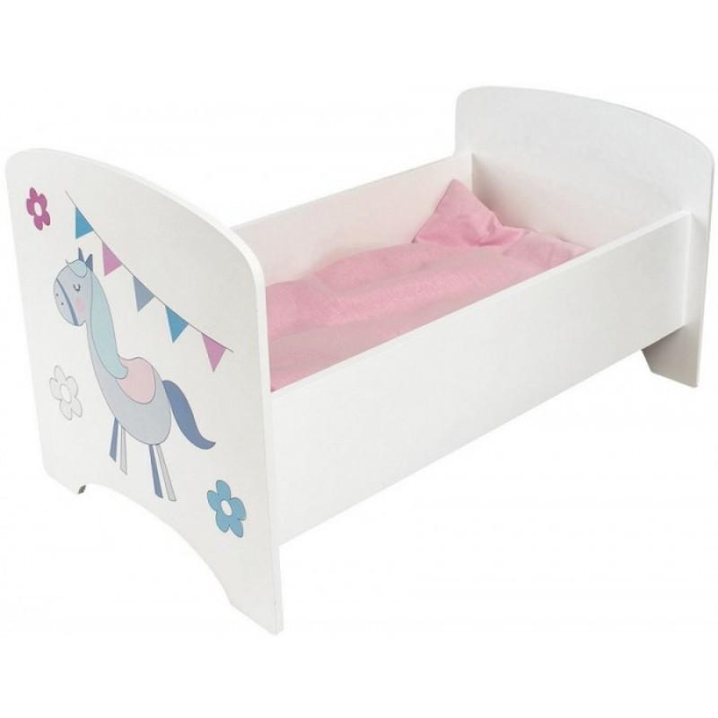 Кроватка для куклы Paremo Крошка Ли