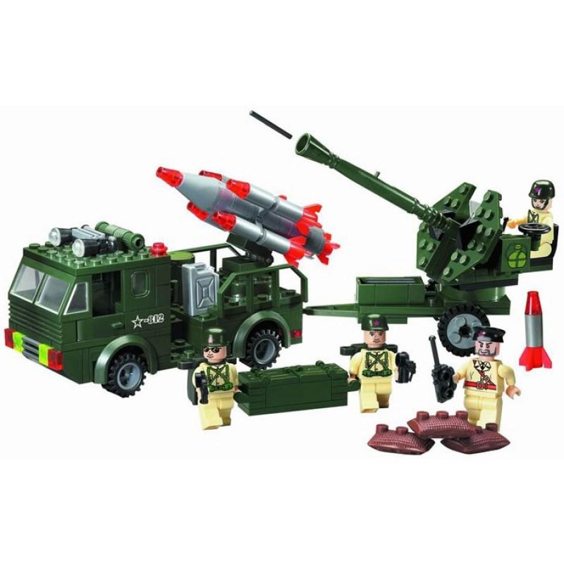 Enlighten Brick Машина ракетной артиллерией (242 детали)