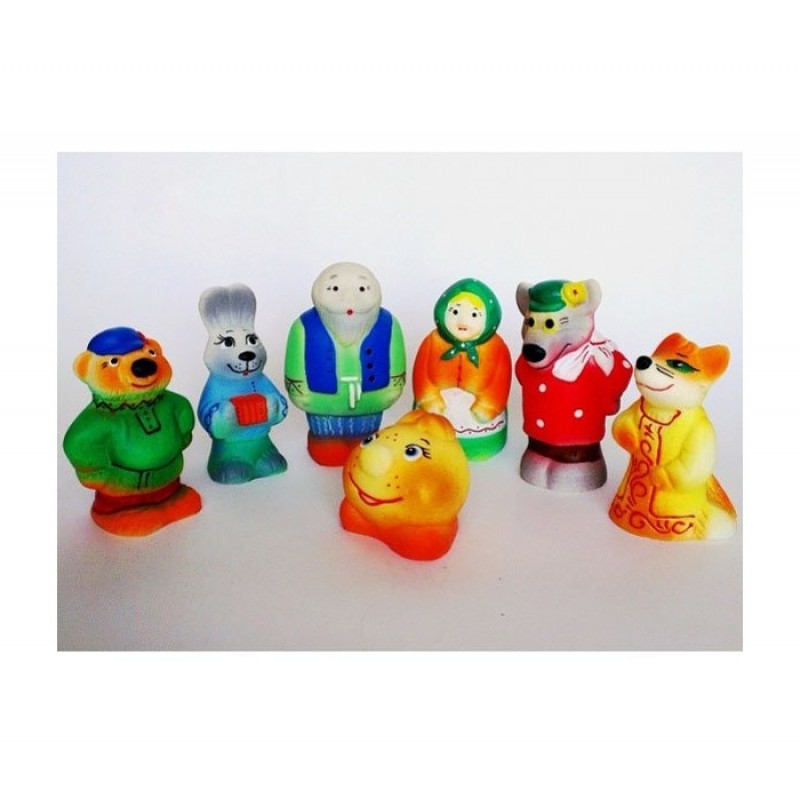 Кудесники Игрушки Колобок (7 персонажей)