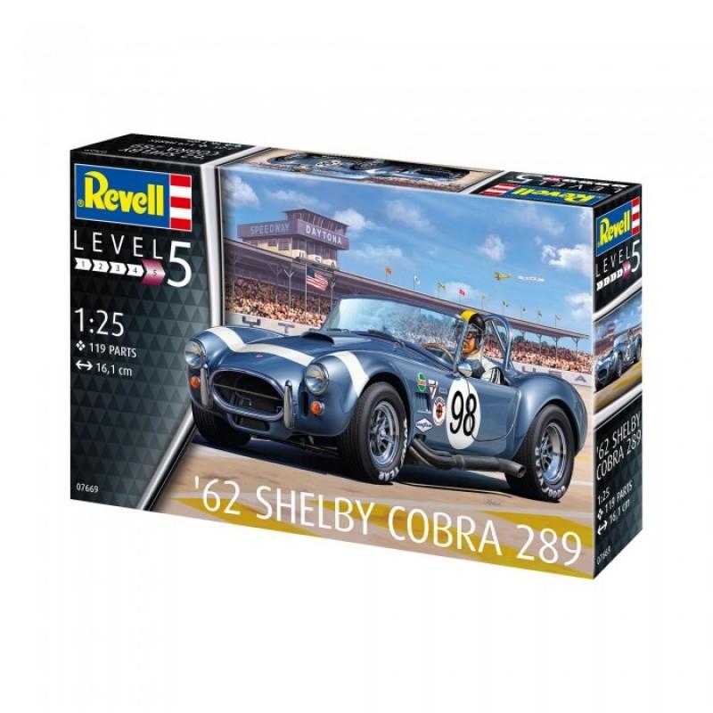 Revell Сборная модель Автомобиля AC Cobra 289 1:25