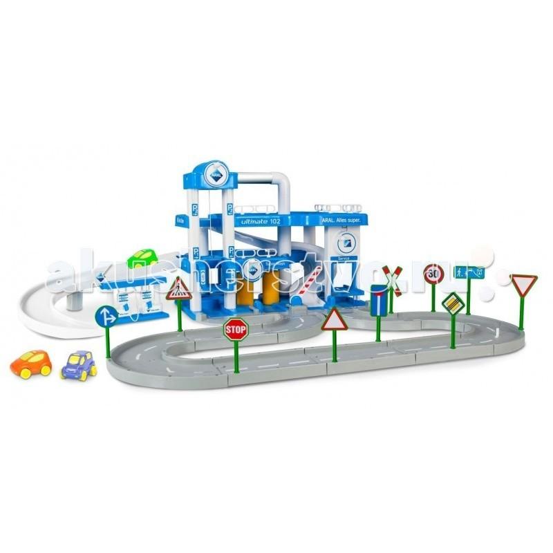Wader Паркинг ARAL 3-уровневый с дорогой