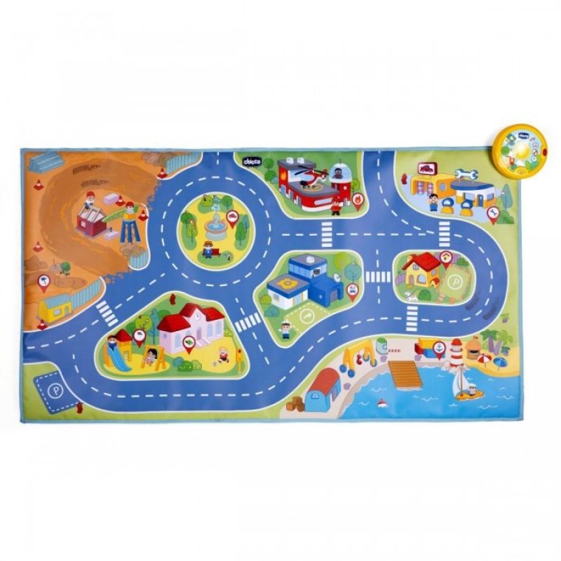 Игровой коврик Chicco Electronic City Playmat