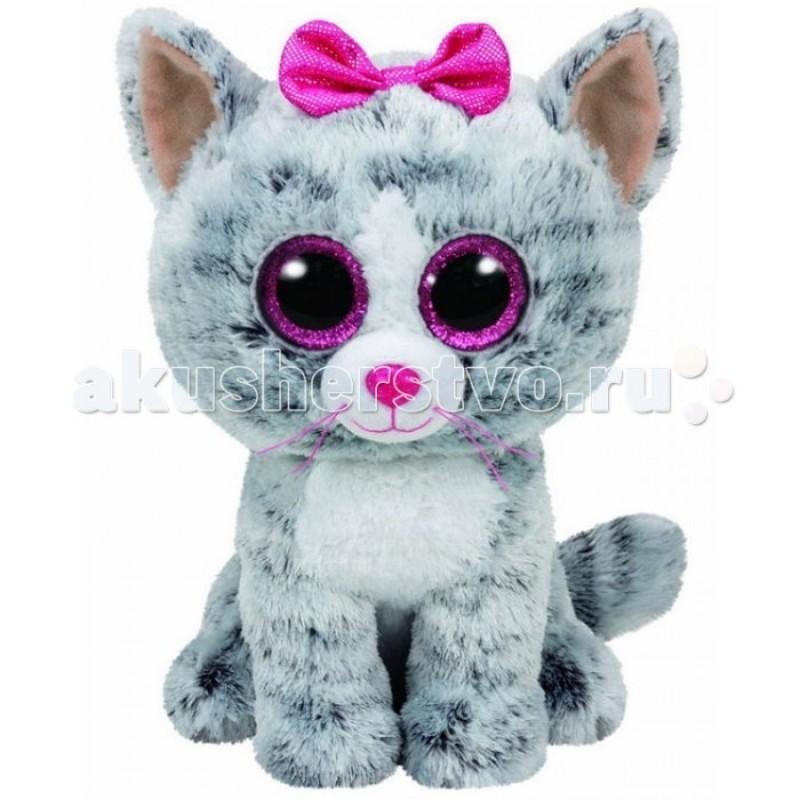 Мягкая игрушка TY Beanie Boo's Кошка Kiki 25 см