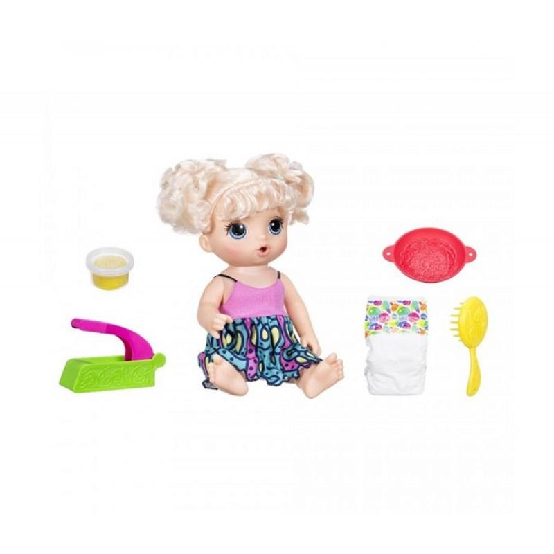Baby Alive Hasbro Малышка хочет есть