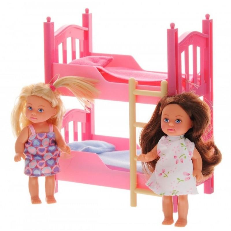 Simba Кукла Еви в спальной комнате
