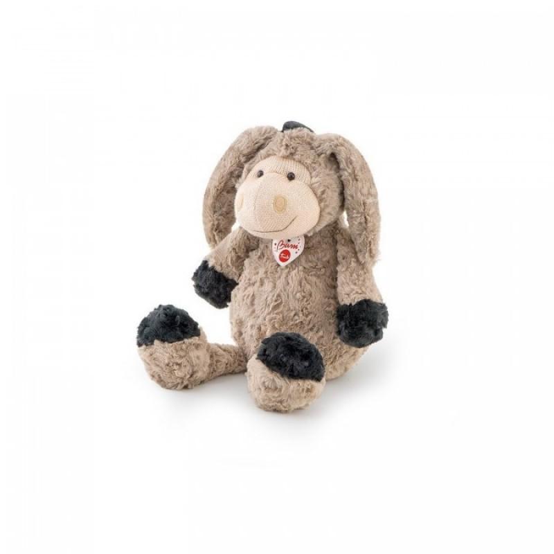 Мягкая игрушка Trudi Ослик с трикотажной вставкой 36 см