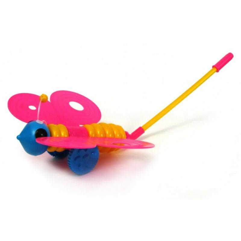 Каталка-игрушка Пластмастер Каталка Бабочка