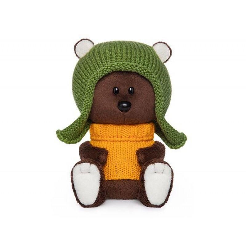 Мягкая игрушка Budi Basa Медведь Федот в шапочке и свитере