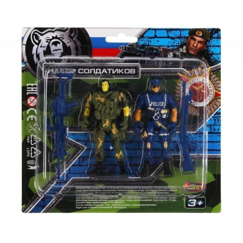 Играем вместе Набор солдатик с оружием YG96498-R