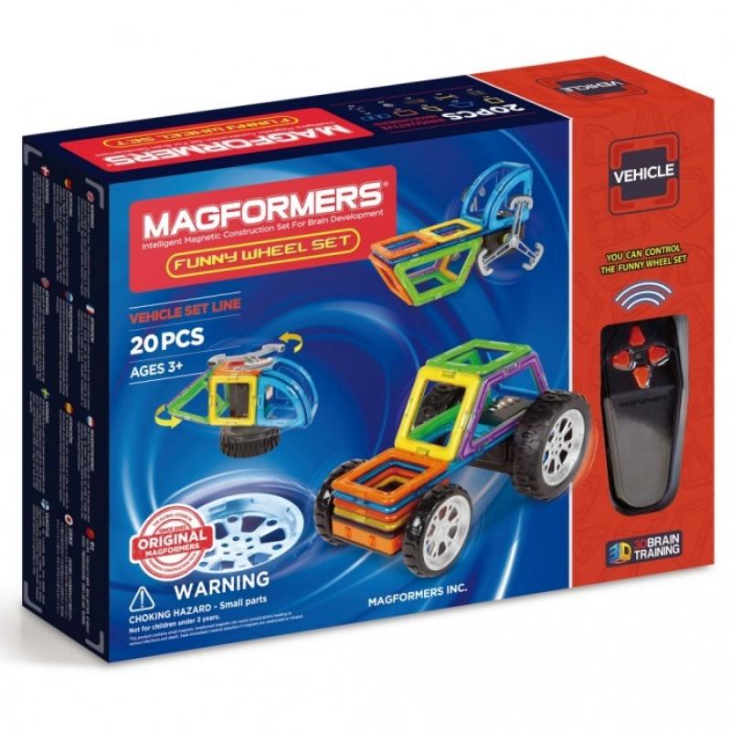 Конструктор Magformers Магнитный Funny Wheel Set 20