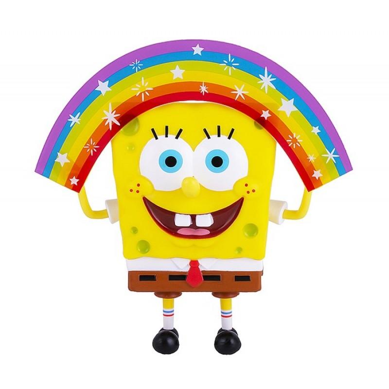 SpongeBов Игрушка Спанч Боб радужный 20 см