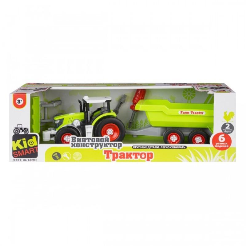 Ningbo Union Vision Набор для сборки Трактора с прицепом
