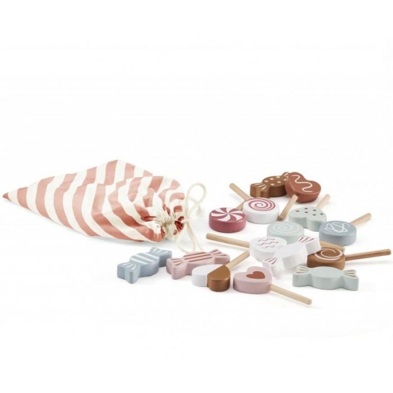 Деревянная игрушка Kid's Concept Набор игрушечных конфет