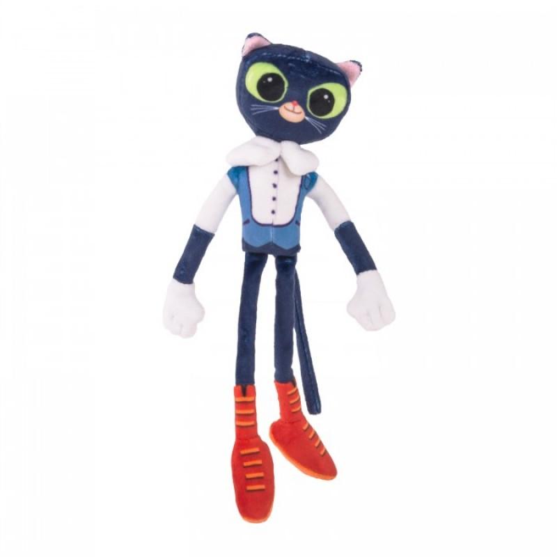 Мягкая игрушка Сказочный Патруль Кот ученый со звуком 32 см