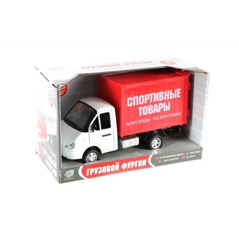 Play Smart Serinity Toys Машинка со звуком и светом Грузовой фургон Спортивные товары