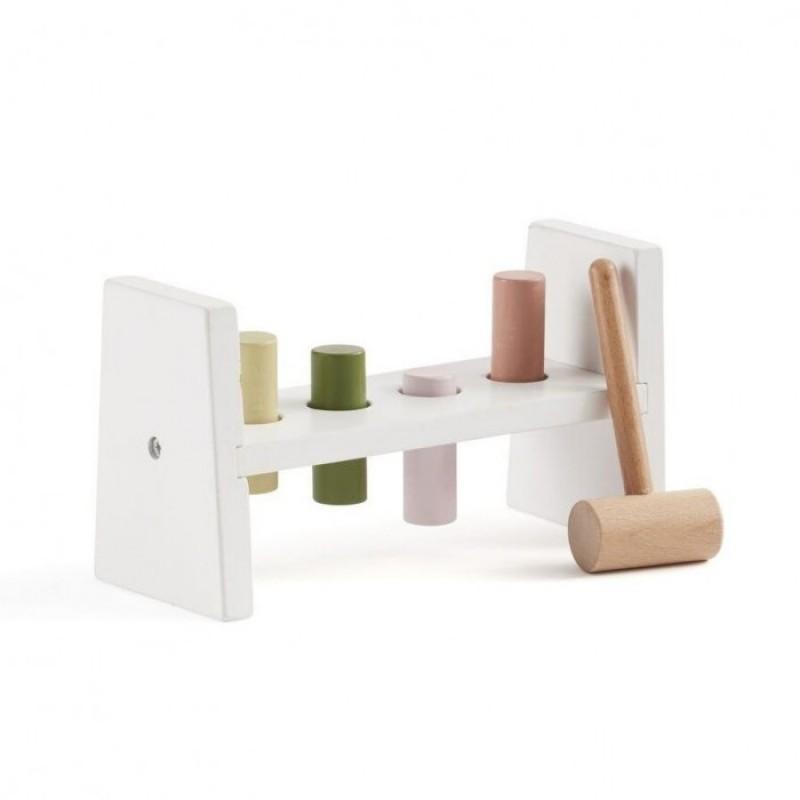 Деревянная игрушка Kid's Concept Edvin развивающая с молотком