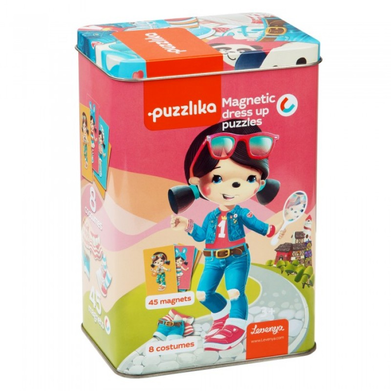 Puzzlika Магнитные пазлы-игра Куклы 20 деталей